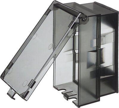 Arlington - Weather Proof Outlet Cover with Plate - Vertical - Clear - 60VC