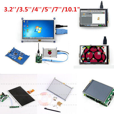 Display TFT für Raspberry Pi 3 / 2 / B / B + 3.2 bis 10.1 inch LCD Touch Screen