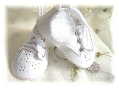 Reborn Doll 70 mm White Toddler Fancy High Top shoes