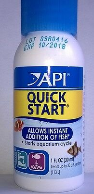 API QUICK START LIQUID TREATMENT FOR FISH 30ml 0317163010891