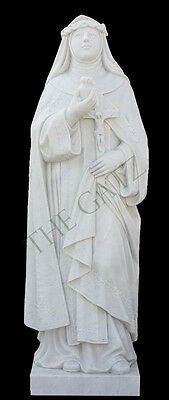 St Catherine of Sienna Marble Church or Cemetary Statue