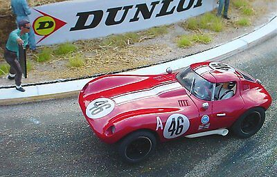 Probuild 1/32 RTR  slotcar c1960S BILL THOMAS CHEETAH COUPE  # 46  RED - M/B