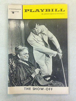 """1968 """"The Show Off"""" Studebaker Theatre Playbill"""