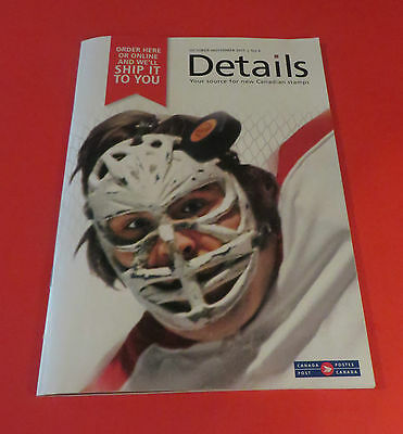 2015 Details Canada Post Stamp Catalog Book Ken Dryden Montreal Canadiens Cover