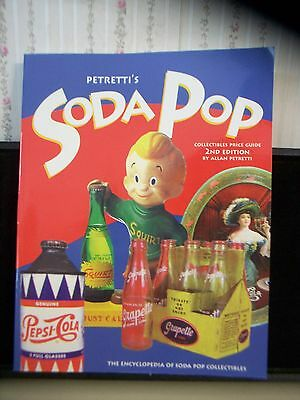 "1999 ""petretti's Soda Pop"" 2Nd Edition Collectibles Price Guide Collectible Book"