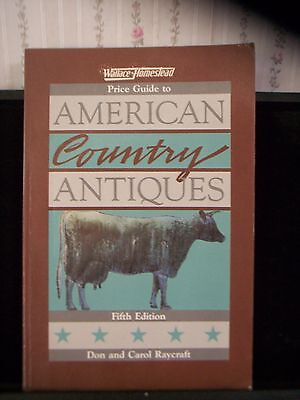 "1985 ""american Country Antiques"" Price Guide Collector's Book"