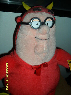 The Family Guy Dressed As The Devil Stuffed  T.v Toy Collectible 15' Inch