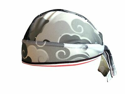 Bandana Micro Mesh Cloud Dragon Grey Cheji