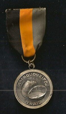 Amaquonsippi Trail Medal HAT Award