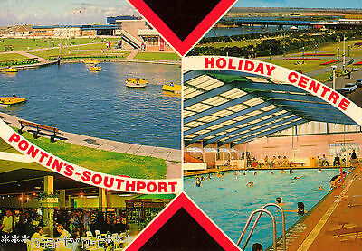 Postcard - PONTIN'S SOUTHPORT HOLIDAY CENTRE. Used 1989.
