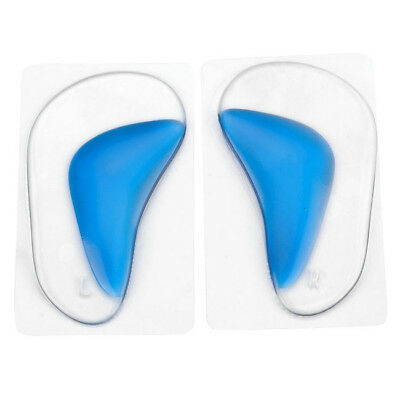 Flat Feet Orthotic Arch Support Gel Pads Non-Slip Silicone Shoes Insoles Women