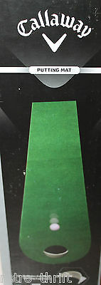 Callaway Putting Golf Mat 1.5' x 8' Includes Patented Putting Cup C10242