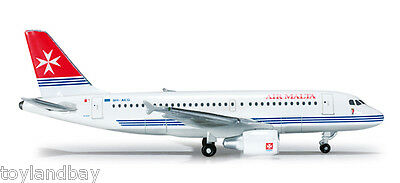 Herpa 519182 Air Malta Airbus Airbus A319 1:500 Scale Diecast New in Box