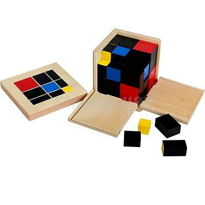 Kids Children Binomial Cube Set Montessori Early Educational Toys Xmas Gift