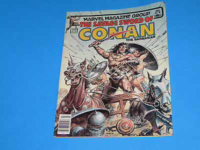1983 Marvel Magazine Group The Savage Sword Of Conan The Barbarian # 90 July