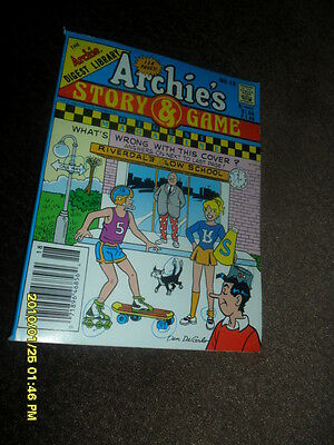 1991 Archie's Story & Game Comic Book Digest # 18