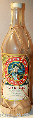 Governor General Dark Rum W&A Gilbey Empty Bottle 25 Fl Ounces