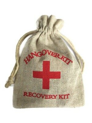 HANGOVER Survival KIT - Hen Stag 18th 21st Birthday Party Keepsake Gift