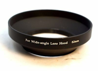 52mm Metal Lens hood lenses screw in type Wide Angle
