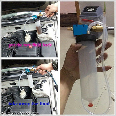 Car Brake Fluid Replacement Tool Hydraulic Clutch Oil Bleeder Exchange Equipment