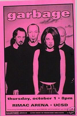 Garbage 1998 San Diego Concert Tour Poster-Your Special