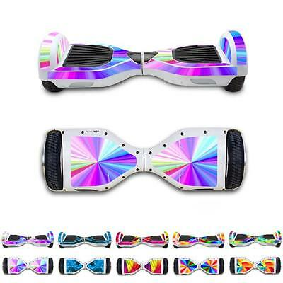 Protective Vinyl Skin Decal For Self-Balance 2 Wheel Electric Scooter Hoverboard