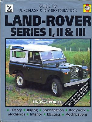 Land Rover Series I, II, III guide to purchase & restoration - excellent book