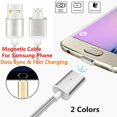 Magnetic Adapter Charger Fast Charging Cable For Samsung Galaxy S6/S7 Edge