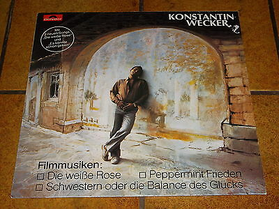 Konstantin Wecker - Filmmusiken - Lp Near Mint!!