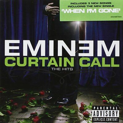 Eminem Curtain Call The Hits Cd Neu