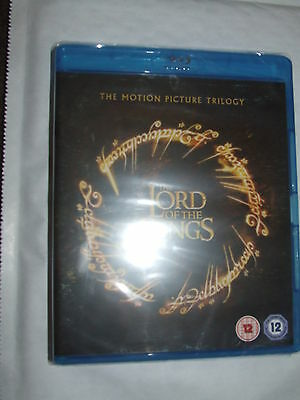 The Lord of the Rings Trilogy  BLU RAY  NEW & SEALED