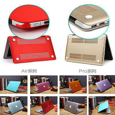 """Crystal See-through Hard Case Cover for MacBook 12""""/ AIR PRO 11.6"""" 13.3"""" 15.4"""""""