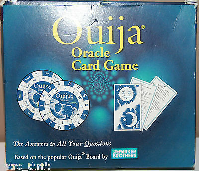 Ouija Oracle Card Game 52 Cards Paranormal 1998 Rare Fortune Telling