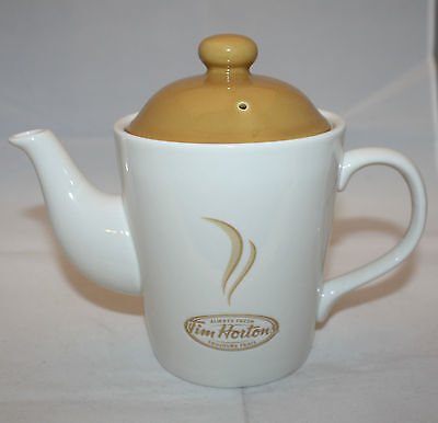 Tim Horton's Always Fresh 2 Cup Coffee Tea Pot Canada