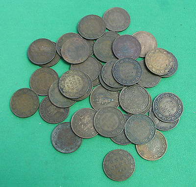 lot of 36 large cents Canada  1903 1906 1909 1910 11 12 13 14 15 16 17 18 19 20