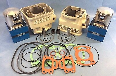 Seadoo 580 587 Cylinders With Top End Rebuild Kit White 1992-1996 92-96 Pwc