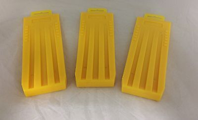 "(3) Wedges 10"" Felling Bucking Falling, High Impact ABS Plastic Great Design!"