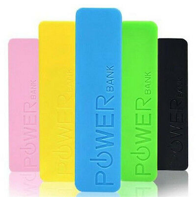 Portable USB External 2600mAh Battery Included Charger Power Bank for Cell Phone