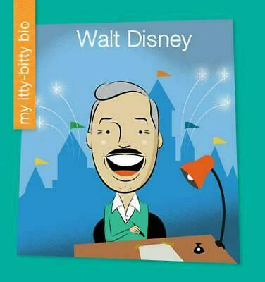 Walt Disney by Emma E. Haldy (English) Library Binding Book Free Shipping!