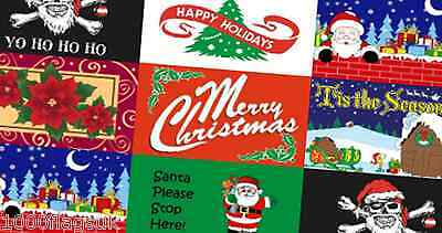 Christmas & New Year Flags 5'x3' (150cm x 90cm) - More Than 30 Designs !
