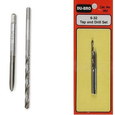 DuBro 362 Tap & Drill Set 6-32