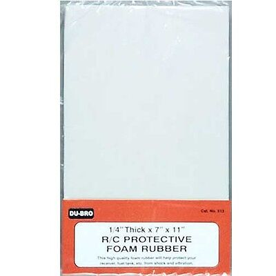 """DuBro 513 Foam Rubber 1 / 4"""" For Airplanes"""