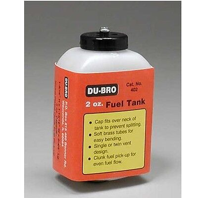 Dubro 402 S2 Square Airplane Fuel Tank 2 oz