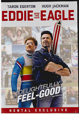 Eddie The Eagle (Dvd, 2016) Rental Exclusive