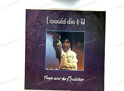 Prince And The Revolution - I Would Die 4 U UK Maxi 1984 //1