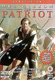 The Patriot DVD (2001) Mel Gibson, Emmerich (DIR) cert 15 FREE Shipping, Save £s