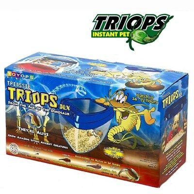 Toyops Triassic Triops Deluxe Tank Aquasaurs Kit