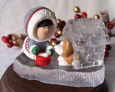 HALLMARK Ornament 1993 Frosty Friends 14 in Series Value $38.00