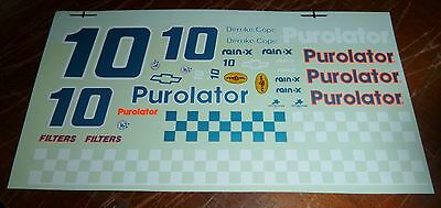 JnJ NASCAR DECALS #10 DERRIKE COPE PUROLATOR CHEVY