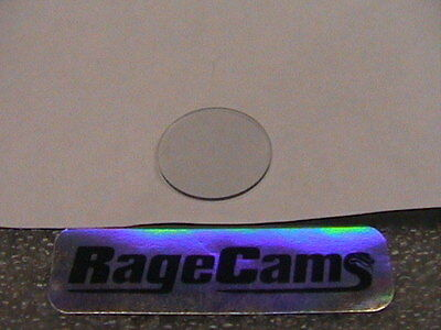 Glass Lens Protector For Maginon HD Helmet Camera Fire Fighter Replacement Part